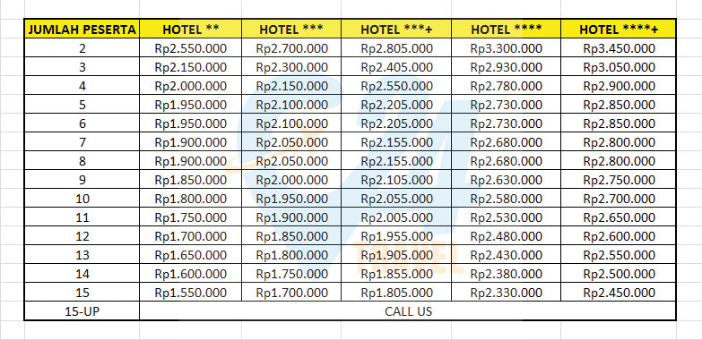 paket wisata belitung 4 hari 3 malam