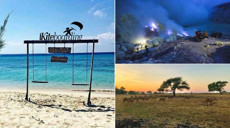 paket wisata kawah ijen blue fire banyuwangi murah