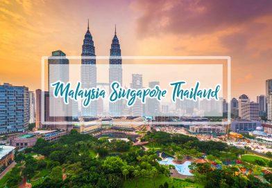 Paket Tour 3 Negara Wisata Thailand Malaysia Singapore
