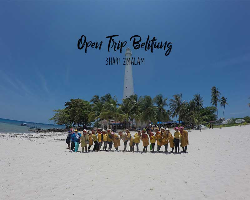 open trip be;itung